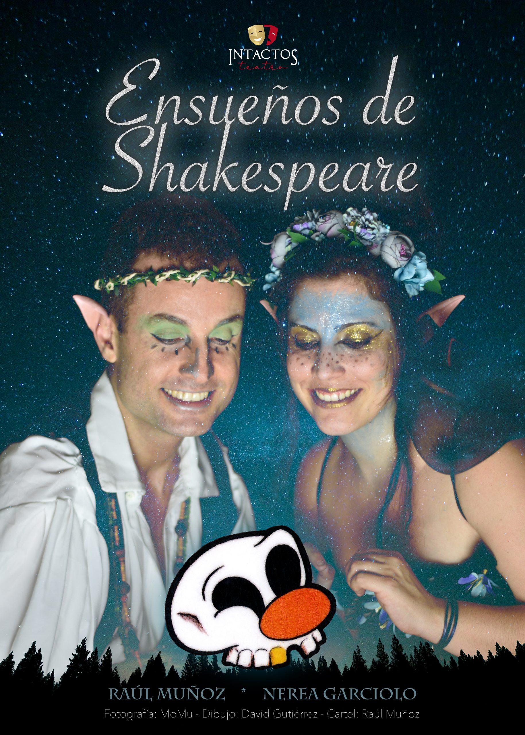 ensueños de shakespeare | intactos teatro
