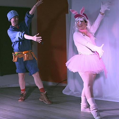 el niño del gorro azul | intactos teatro
